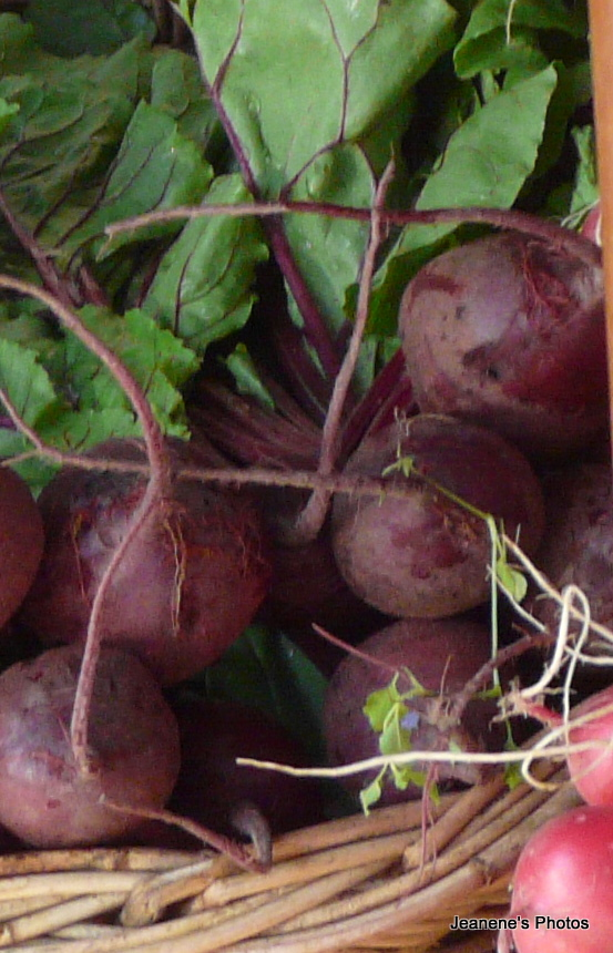Perfect Beets From Eugene Saturday Market